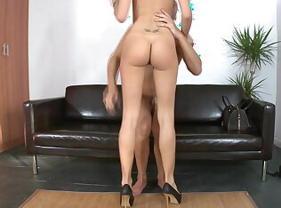 Long legged skinny Erica Fontes gets fucked