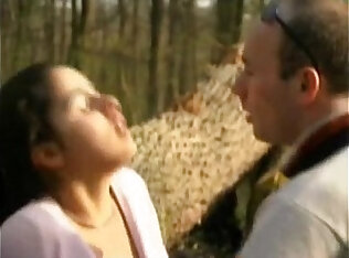 FRENCH CASTING blonde teen in a forest.More